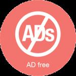 ad free icon