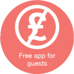 Free app for guests icon