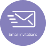 Email invitations icon